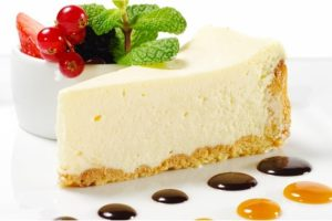 Pastel de queso tradicional