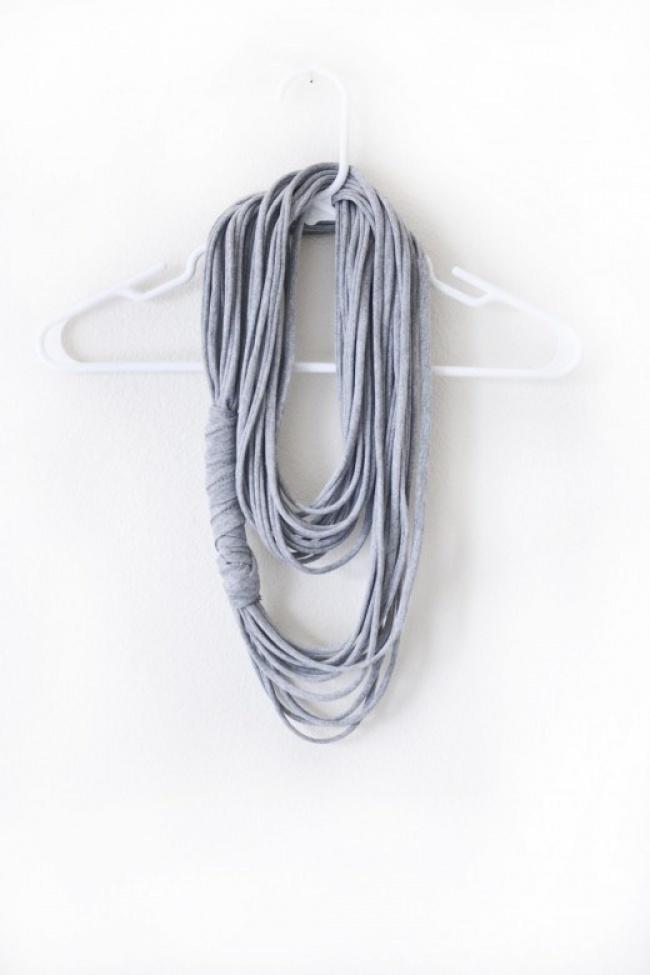 camiseta a bufanda