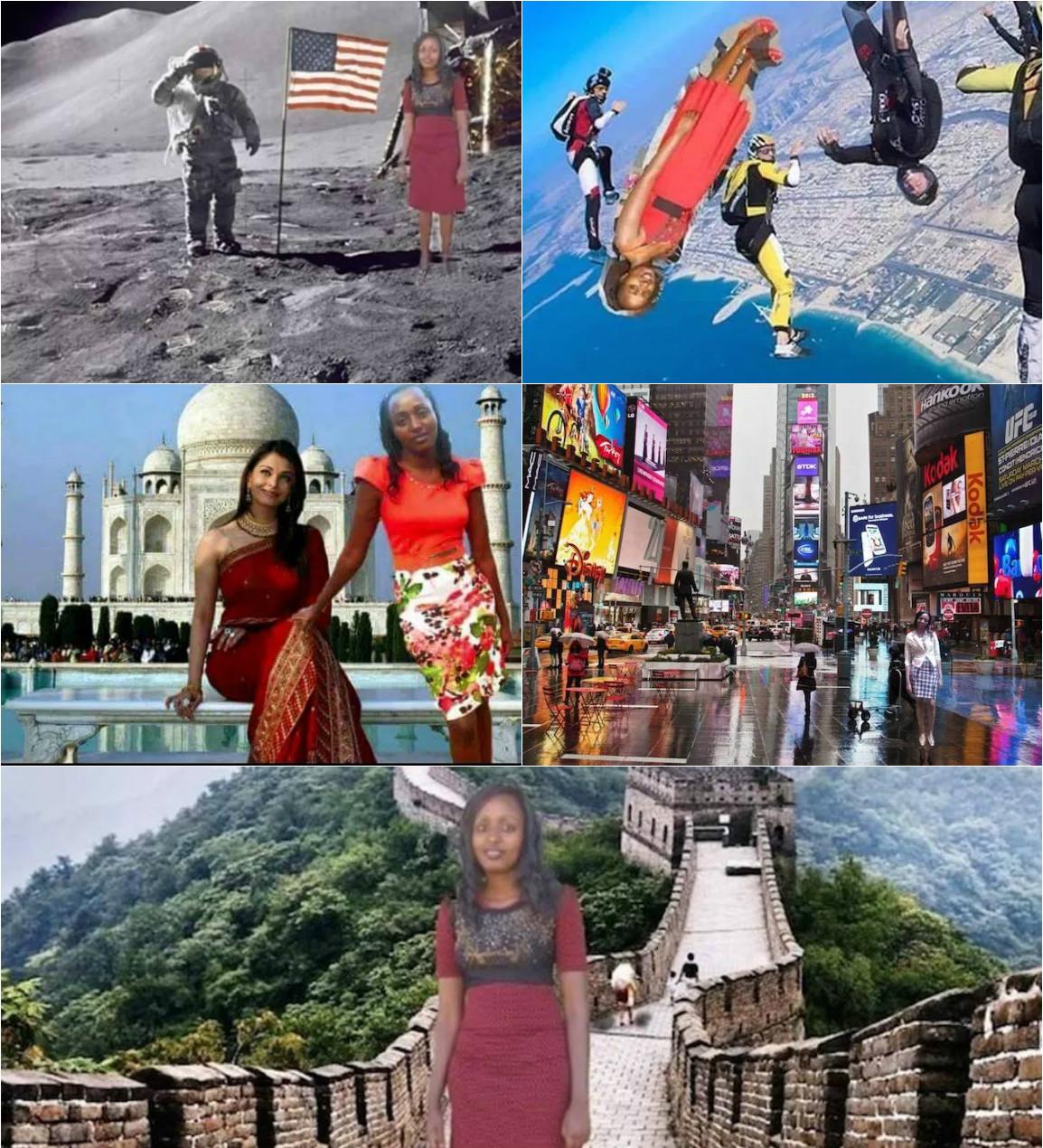 Gana viaje a china