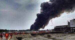explosion coatza
