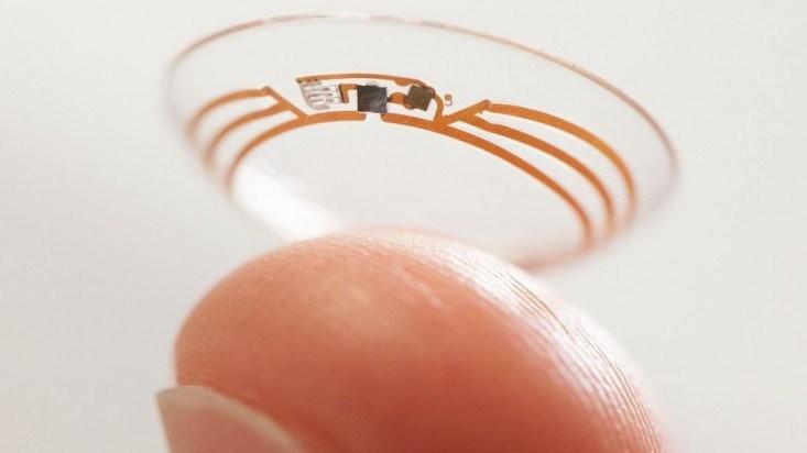 lentes de contacto camara