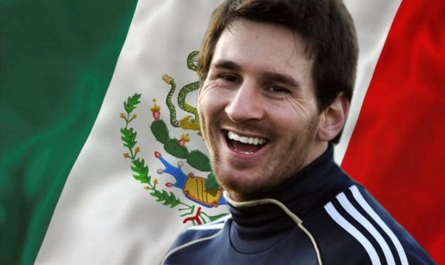 Messi Mexico