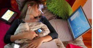 dormir celular