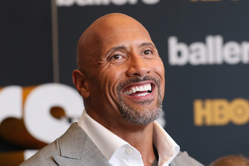 "MIAMI BEACH, FL - JULY 14:  Dwayne Johnson attends the HBO ""Ballers"" Season 2 Red Carpet Premiere and Reception on July 14, 2016 at New World Symphony in Miami Beach, Florida.  (Photo by Aaron Davidson/Getty Images for HBO)"