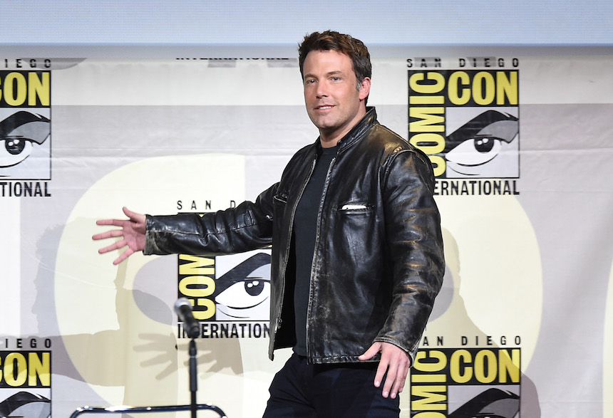 SAN DIEGO, CA - JULY 23:  Actor Ben Affleck attends the Warner Bros. Presentation during Comic-Con International 2016 at San Diego Convention Center on July 23, 2016 in San Diego, California.  (Photo by Kevin Winter/Getty Images)