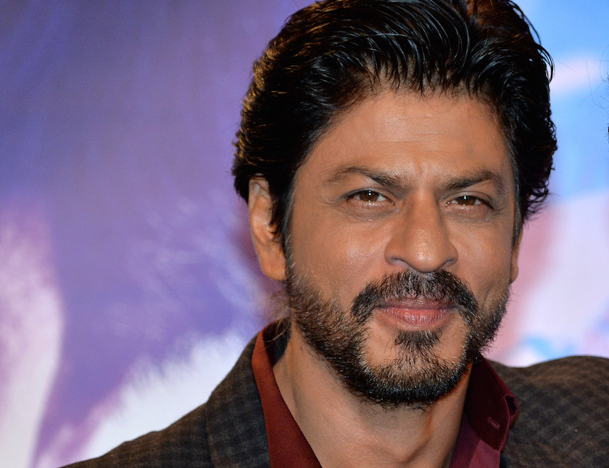 LONDON, ENGLAND - APRIL 13:  Bollywood star Shah Rukh Khan meets his wax figure at Madame Tussauds on April 13, 2016 in London, England.  (Photo by Anthony Harvey/Getty Images)