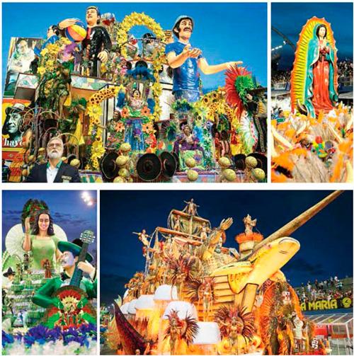 El carnaval de Brasil le rinde homenaje a México – Telemar